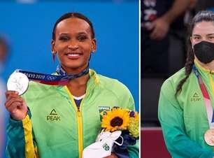 Tóquio 2020: Rebeca Andrade da ginástica e Mayra Aguiar do judô garantem 2 medalhas históricas para o Brasil