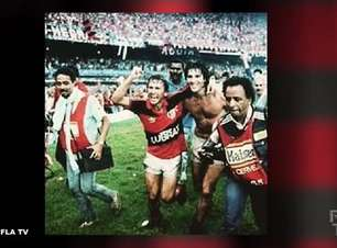 """FLAMENGO: Renato Gaúcho comenta amizade com Zico: """"Um ídolo que joguei ao lado e que tenho comigo até hoje"""""""