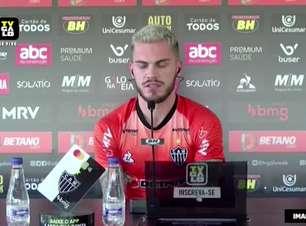 """ATLÉTICO-MG: Nathan celebra marca de 100 jogos com a camisa do clube, avalia seus três anos e fala em """"conquistar alguns títulos nesta temporada"""""""