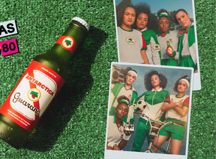 Guaraná Antarctica lança produto em apoio ao futebol feminino
