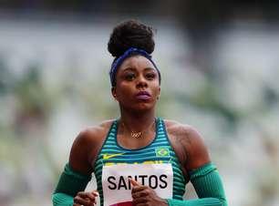 Brasileiras ficam fora da semifinal dos 100m rasos em Tóquio