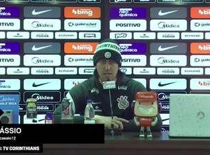 """CORINTHIANS: Cássio minimiza última derrota para o Flamengo na Arena, ressalta que time precisar ser mais regular dentro de casa e avalia: """"temos que nos impor"""""""