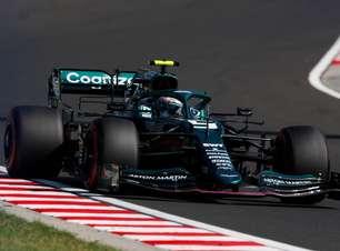 """Vettel cita dificuldade com pneus na Hungria, mas declara: """"10º é o que merecíamos"""""""