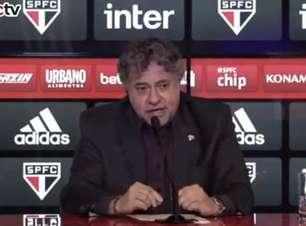 Presidente do São Paulo é internado com covid-19