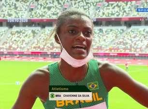Chayenne da Silva não vai à semifinal dos 400m com barreiras