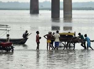 Onze mortos no leste da Índia por chuvas torrenciais