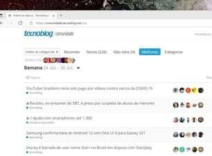 TB Comunidade #78: Samsung, Disney, Starzplay, Facebook, YouTube e mais