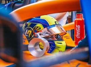 """Norris mostra surpresa com 6º lugar no grid para GP da Hungria: """"Poderia ser pior"""""""