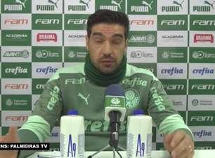 """PALMEIRAS: Abel Ferreira fala sobre chegada de Piquerez e destaca: """"Quanto mais rápido ele entender nosso pensamento de 'todos somos 1' mais rápido ele se adapta"""""""