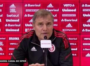 """INTERNACIONAL: Aguirre reconhece que Guerrero não está 100% recuperado mas avalia: """"Era a melhor solução para esta partida"""""""