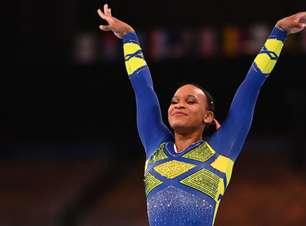 Rebeca Andrade vence a prova do salto na ginástica e conquista a medalha de ouro em Tóquio