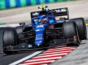 """Ocon agradece Alpine e Alonso e comemora primeira vitória na F1: """"O que posso dizer?"""""""
