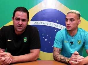 SELEÇÃO MASCULINA: Jardine avalia possível ausência de Matheus Cunha contra o México