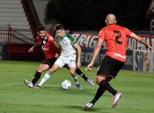 Veja os gols do empate entre Atlético-GO e América-MG, pelo Brasileirão