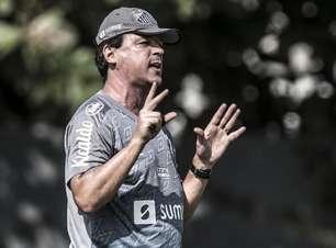Sem Marinho e Luiz Felipe, Santos treina de olho na Juazeirense