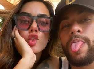 """Assumiram? Neymar e sua """"nova Bruna"""" postam selfie nas redes"""