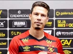 Hernanes é apresentado ao Sport e cita Alceu Valença: 'Foi a saudade que me trouxe pelos braços'
