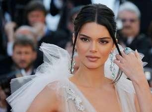 """Representante de Kendall Jenner diz que processo de US$1,8 mi de grife italiana não tem """"mérito"""""""