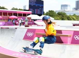 Dupla brasileira fica fora do pódio na final do skate park