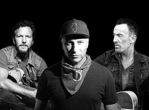"""Tom Morello anuncia álbum solo e libera cover de """"Highway to Hell"""" com Bruce Springsteen e Eddie Vedder"""