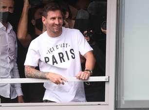 Messi recusa 10 de Neymar e deve usar o número 30 no PSG