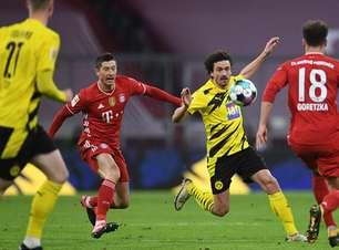 Borussia Dortmund x Bayern: onde assistir e prováveis escalações do jogo da Supercopa da Alemanha