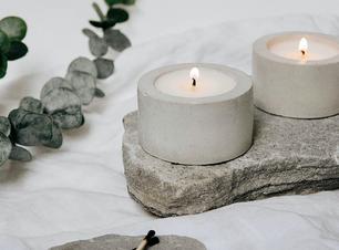 Como usar velas na decoração de casa
