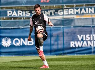 Messi pode estrear pelo PSG fora de casa contra o Reims