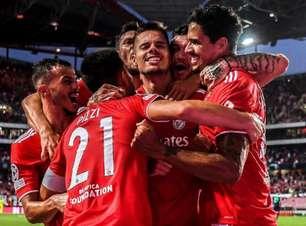 Benfica vence o PSV em partida de ida da fase preliminar da Champions