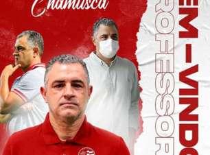 Novo técnico do Náutico, Marcelo Chamusca foca em colocar o time no G-4
