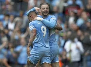 Manchester City goleia o Norwich com Gabriel Jesus decisivo