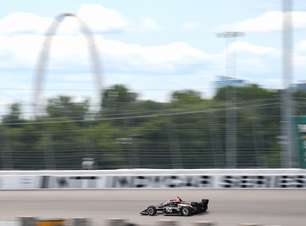 Power supera Herta por 0s02 e crava pole do GP de Gateway. Palou larga só em 21º