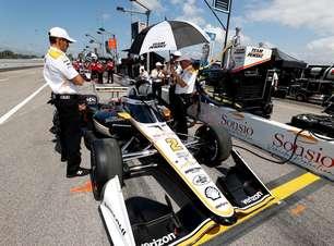 Newgarden comanda 1-2 da Penske e lidera único treino livre da Indy em Gateway