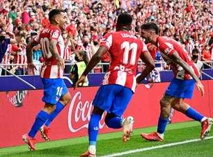 Atlético de Madrid tem 2ª vitória consecutiva pela La Liga