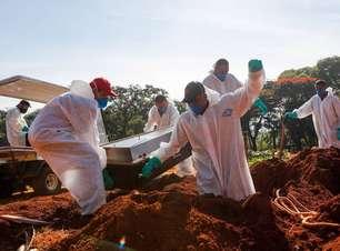 Brasil registra 293 mortes por covid-19 nas últimas 24 horas