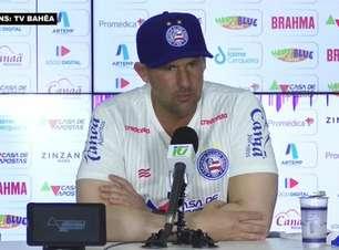 """BAHIA: Diego Dabove evita projetar mudanças imediatas no sistema de jogo e prioriza: """"Buscaremos uma equipe competitiva e com personalidade"""""""