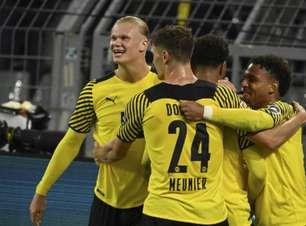 Haaland marca no fim, e Borussia Dortmund vence o Hoffenheim