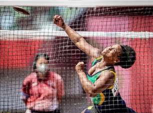 Julyana da Silva conquista o bronze no lançamento de disco nos Jogos Paralímpicos de Tóquio