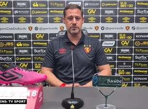 """SPORT: Ricardo Severo destaca números da equipe em empate contra a Chapecoense e reconhece: """"Sempre difícil enfrentar equipes lá de baixo"""""""