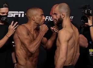 Em luta aguardada, Barboza e Chikadze se enfrentam no main event do UFC Vegas 35 neste sábado (27)
