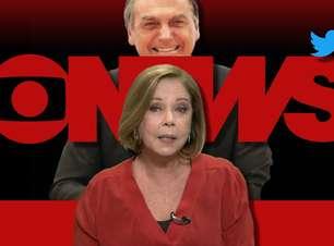 Jornalista de TV 'indignada' com Bolsonaro recebe críticas