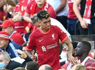 Firmino desfalca Liverpool em jogo contra o Crystal Palace
