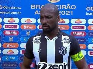 """Luiz Otávio, capitão do Ceará, analisa derrota contra o América-MG: """"Erramos bastante"""""""