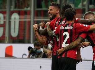 Milan e Roma goleiam no fechamento da 2ª rodada do Italiano