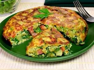 Omelete de batata-doce: opção de refeição fit e nutritiva