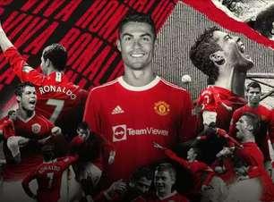 Cristiano Ronaldo assina com o Manchester United até 2023