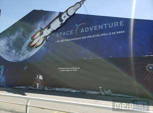 Space Adventure - Objetos da Apollo no Brasil. Apenas vá