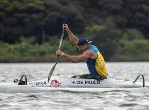 Luis Cardoso e Fernando Rufino vão às finais da canoagem de velocidade nos Jogos Paralímpicos