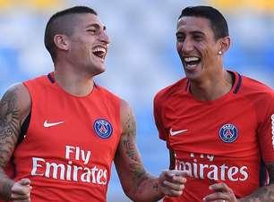 Neymar e Cristiano Ronaldo fora, mas Verratti dentro: Di Maria elege os 5 melhores com quem atuou