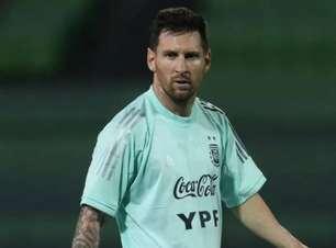 Scaloni garante que Messi está bem e promete seleção ousada